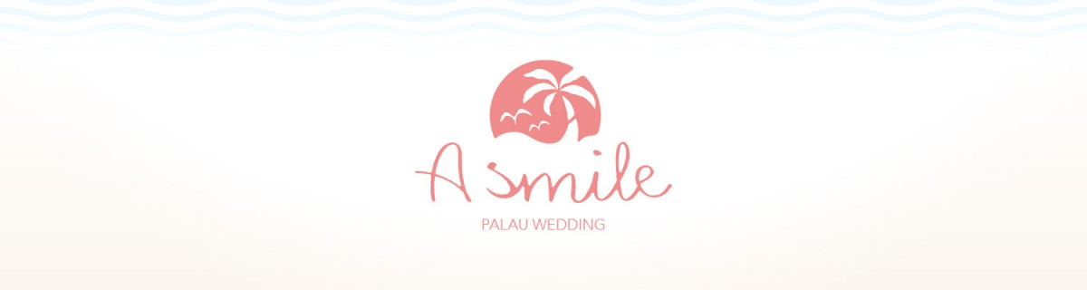 PALAU WEDDING A smileのWEBサイトとCI