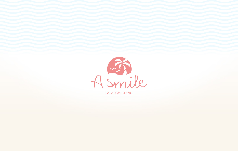 PALAU WEDDING A smileのWEBサイトとCI