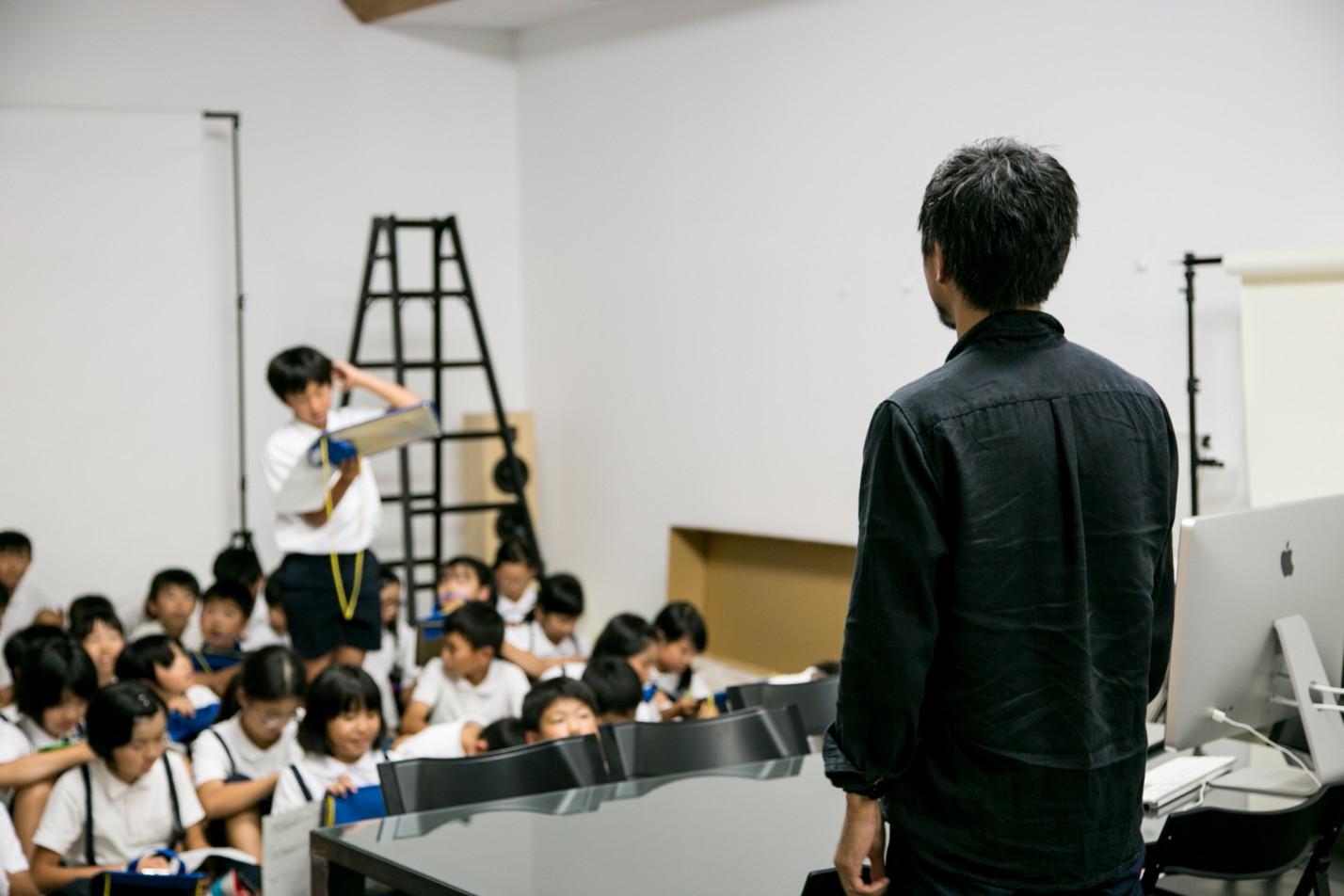 小学生が「Masuda no Hito」を見学にきました!