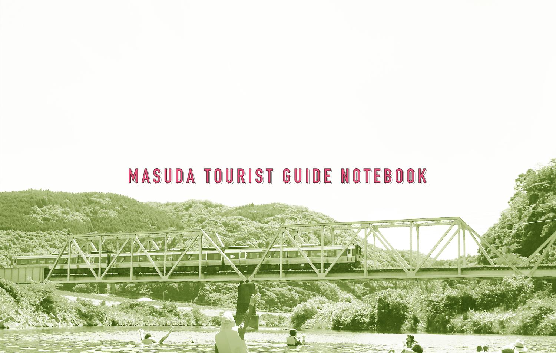 MASUDA TOURIST GUIDE NOTEBOOK
